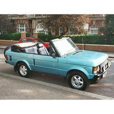 Range Rover Convertible …