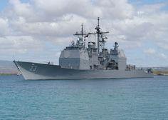 US Navy 030903-N-5024R-003 USS Port Royal (DDG 73) departed on deployment - United States Navy