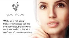 Uplift, empower, validate and ultimately build self-esteem in women all around the world. #younique