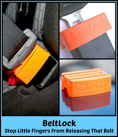 Beltlock - Little Fingers Will No Longer Be Able to Release That Belt Great review from the stuff of success blog
