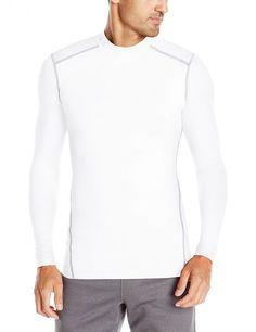 New Men's Under Armour ColdGear Twist Compression Mock Shirt 1265648 Size XL $50 #UnderArmour #BaseLayers