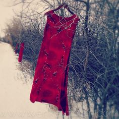 REDress installation draws awareness to over 500 missing or murdered Aboriginal and Metis women.
