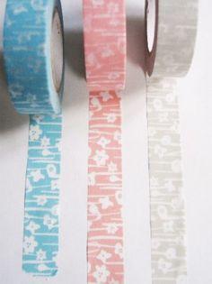 点と線 小さな花 - マスキングテープ