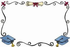 Bordas coloridas para fazer diploma de formatura da Educação Infantil - Molduras coloridas de formatura - ESPAÇO EDUCAR