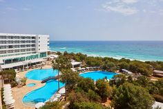 The eternal sunshine of Cyprus, the unending appeal of island joy, captured in a view… Welcome to Grecian Bay Hotel! Grecian Bay, Ayia Napa, Eternal Sunshine, Five Star Hotel, Crystal Clear Water, Hotel S, Mediterranean Sea, Cyprus, Summer Vibes