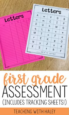 I created this product to use at the beginning of the year to see where my students are. It is a collection of 27 1-page assessments to gather information and drive your instruction. | first grade reading assessments, first grade assessment checklist, first grade assessment test, 1st grade assessment, first grade assessment, assessment tools, beginning of the year assessment, main idea assessment