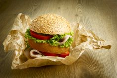 Packnwood UK - Brown Kraft Paper Greaseproof and Biodegradable, Perfect for take away burgers!