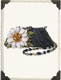 """Mary Frances """"He Loves Me"""" purse from Victorian Trading co."""