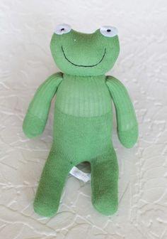 Swinky The Frog Sock Animal