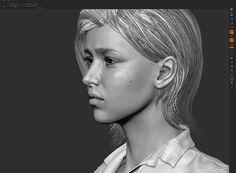ArtStation - Ellie Fanart Real-time Render Demo, Ray Thuc Le