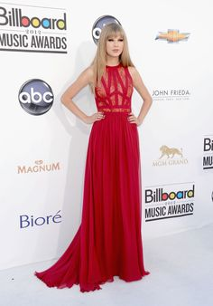 Taylor swift red carpet gown