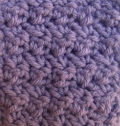 The seed stitch is such an easy stitch and it makes a tight, strong weave that is excellent for warm afghans and scarves, bags, purses. Make a chain of any o...