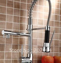 Refined Stainless Dual Spout Kitchen area Machine Tap Solitary Lever Spraing Draw Lower Warm Chilly Drinking water Taps