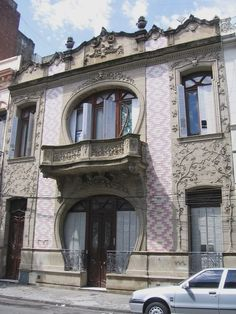 Art Nouveau Architecture, Organic Architecture, Amazing Architecture, Architecture Design, Art Nouveau Illustration, Chile, Wonders Of The World, Habitats, Cool Art