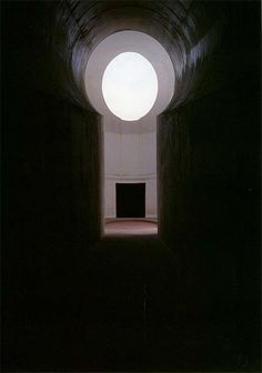"""n-architektur: """" Roden Crater, East Portal Entryway, 2000 James Turrell """"I wanted to use the very fine qualities of light. There's a space where you can see your shadow from. James Turrell, Gothic Architecture, Ancient Architecture, Light And Space, Minimalist Interior, Installation Art, Art Installations, Light Art, American Artists"""
