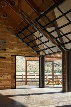 Barns and ranches inform Signal's design of Experience Center in Oregon state park Parks Department, Cottonwood Canyon, Experience Center, Outdoor Learning, Wood Interiors, Master Plan, Amazing Architecture, State Parks, Oregon