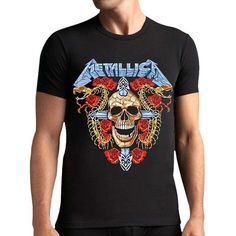Men's Metallica T-Shirt  #fashion #yoga #tracksuit #black #tight #sexy #model #running #hoodie #jumper #yogatracksuits