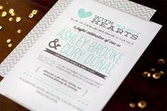 Aquí os traemos varias propuestas de diseños que hemos encontrado para invitaciones de bodas. Todas con un toque original para contargiar a todos los invitados con la emoción que se vive en un día tan especial.