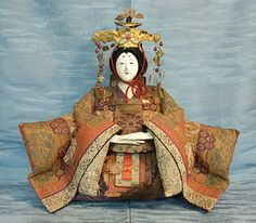 Antique Japanese Girls Day Doll - Hina Matsuri Ningyo by softypapa, via Flickr