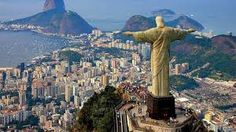 Explore Rio De Janeiro Top Attractions, Tours, Hotel and Flight Bookings. A Perfect Rio Travel Guide for you. Enjoy your vacation in Rio. Book Now! Places To Travel, Places To See, Travel Destinations, Holiday Destinations, Amazing Destinations, Brazil Wallpaper, Wallpaper Cave, Computer Wallpaper, Christ The Redeemer Statue