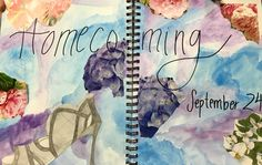 "Visual Journals #5 - Draw/Paint - ""HOMECOMING"" - NGHS Room 406"