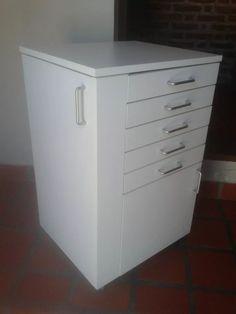 Mueble Rodante Multifuncional Para Odontologia - $ 2.990,00 en Mercado Libre