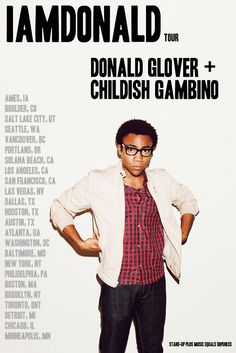 So much to be said about Mr. Donald Glover. #iwannawritelikeyou