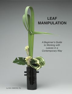 This book is fabulous with foliage! Leaf Manipulation Manual — Modern Flower Arrangements, Ikebana Flower Arrangement, Ikebana Arrangements, Floristry For Beginners, Corporate Flowers, Flower Show, Flower Art, Arte Floral, Unique Flowers