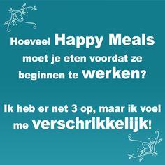 Hoeveel Happy Meals moet je eten? #WeightWatchers