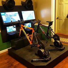 Home Gym - bike trainer I f-n wish