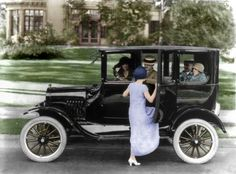 1923 Ford. Library of Congress.