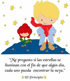 "Inspírate con uno de los libros más famosos, ""El Principito"" con #frases sobre el amor, la vida y la amistad. #ElPrincipito #Libros Little Prince Party, The Little Prince, Cute Clipart, Little Boy Fashion, Disney Quotes, Cute Images, Some Words, Baby Boy Shower, Little Boys"