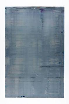 "mentaltimetraveller: ""Gerhard Richter Abstract Painting (Grey) (880-3) 2002 """