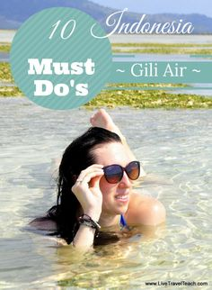 Gili Air is the perfect relaxation getaway in Indonesia. Much quieter than its party neighbor Gili T, this tropical island is great for the beach, sunsets, delicious food, snorkeling, diving stargazing and the best vacation spot for any couple!