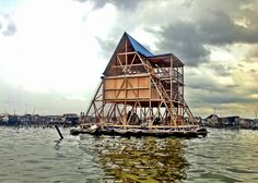Resilient floating school provides reliable education in flood-prone African village