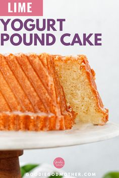 65 minutes · Vegetarian · Serves 1 · Moist, flavorful, and unapologetically lime flavored, this lime yogurt pound cake is a lovely simple dessert. Bake in loaves to give away or freeze, as a bundt cake for a simply stunning presentation… More