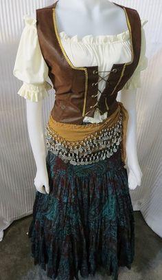 Renaissance Rustic Gypsy Costume from Fashion by FashionRules, $99.00