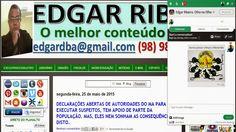 """EDGAR RIBEIRO: NOVIDADE NO BLOG: """"mini-rede-social"""" para interaçõ..."""