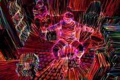 Janne Parviainen - Light Art Photography and Painting | LIGHT TOPOGRAPHY