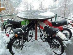 Dirt bike furniture