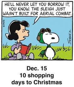 Peanuts Holiday Countdown