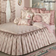 Floral Trellis Daybed Set Rose Blush Daybed