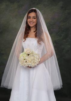 Circular Style Bridal Veil 2 Tier Wedding by JacksonBridalVeils, $55.00