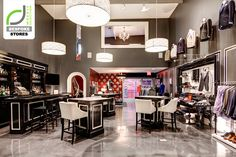 BESPOKE STORES! Michael Andrews Bespoke store, New York City other stores