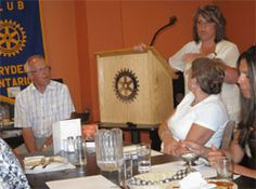 Dryden Rotarians Share 2012 Thailand Convention Experience with Club