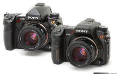 Sony Alpha DSLR A900 & A700