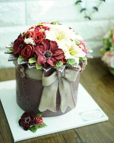 ICDA 국제 케이크 데코레이션 협회 International Cake Decoration Association Soy bean cream…