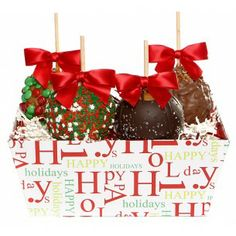Holiday Caramel Apple Gift Bag - For more information about this ...
