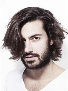 Glamour Handsome Mens Wig Medium Wavy Lace Front Wig 100% Indian Human Hair about 9 Inches
