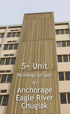 Anchorage unit rental income properties for sale Income Property, Rental Property, Property For Sale, Eagle River, Real Estate, The Unit, Building, Real Estates, Buildings